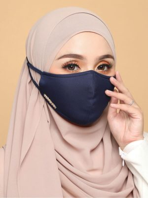 Basic Facemask – Navy Blue