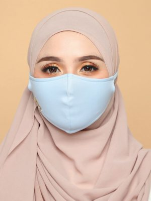 Basic Facemask – Baby Blue