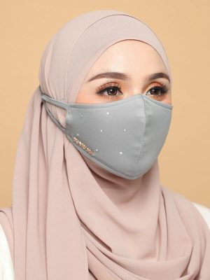 Diamond Facemask – Grey