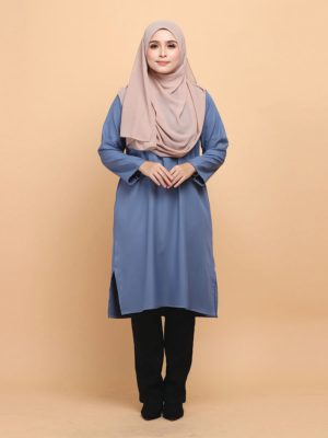 Raeesa Long Top in Goblin