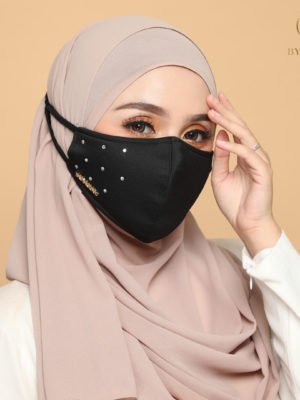 Diamond Facemask – Black