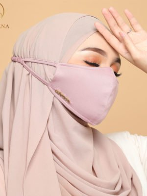 Basic Facemask – Dusty Pink