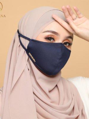 Basic Facemask – Navy Blue