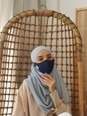 Exclusive Facemask Navy Blue