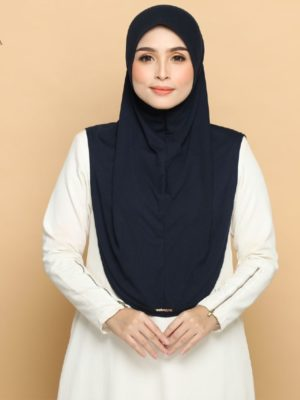 MARISSA SARUNG INSTANT in NAVY BLUE