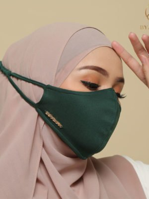 Basic Facemask – Emerald Green