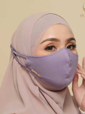 Basic Facemask – Dusty Purple