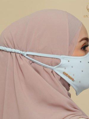 Diamond Facemask – Mint Green