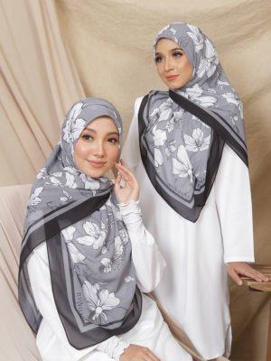 Bohemian Sakura Series in Slate Silver