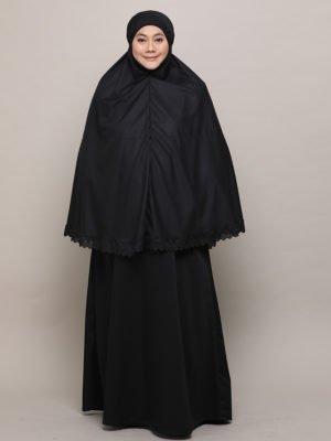 Saffiya Jubah-Black