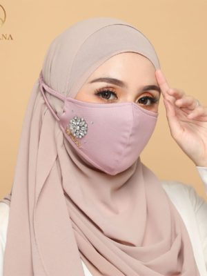 Exclusive Facemask Dusty Pink