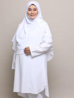Wardah Suit – White