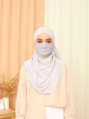 Luxe Diamond Facemask – Universal Grey