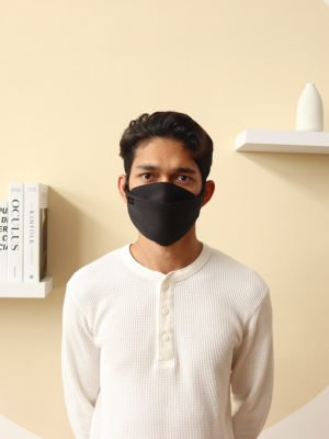 Luxe Basic Facemask – Black