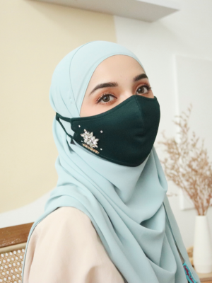 Exclusive Facemask Emerald Green