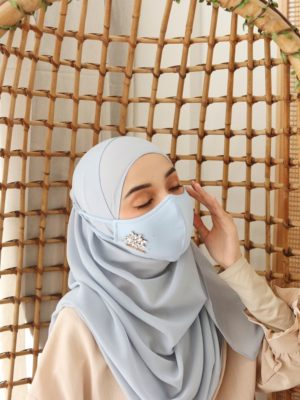 Exclusive Facemask Baby Blue