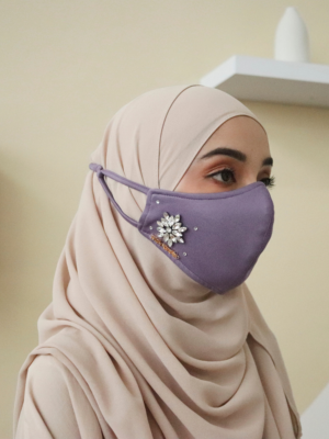 Exclusive Facemask Dusty Purple